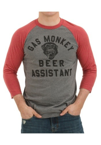 Gas Monkey Beer Assistant Raglan Shirt