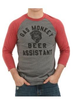 Gas Monkey Beer Assistant Raglan Shirt