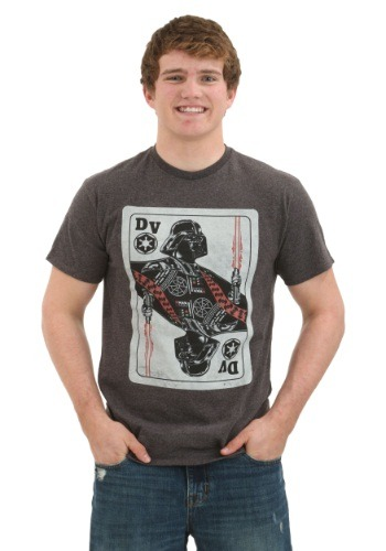 Star Wars King Vader Card Men's Tee