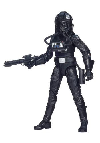 "Star Wars Black Series 6"" Tie Pilot Figure"