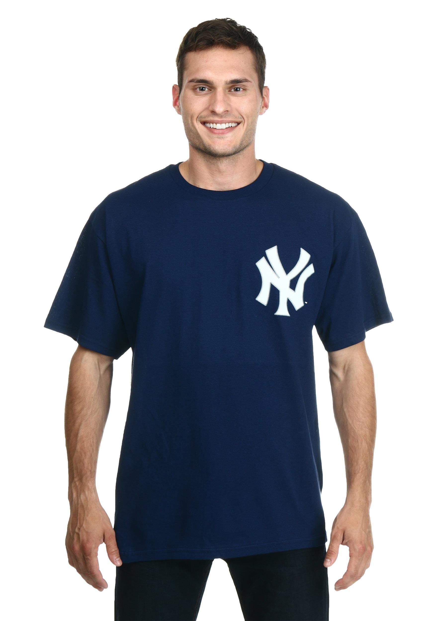 Official Wordmark New York Yankees Men s T-Shirt 1fab54b36ed