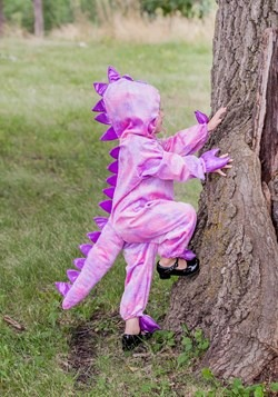 Tilly the T-Rex Girls Dinosaur Costume Alt 5