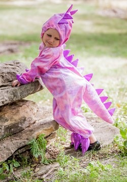 Tilly the T-Rex Girls Dinosaur Costume Alt 6
