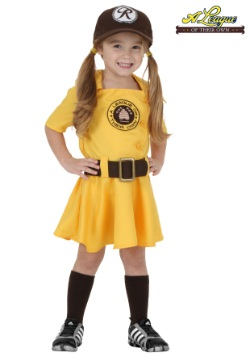 Toddler A League of Their Own Kit Costume