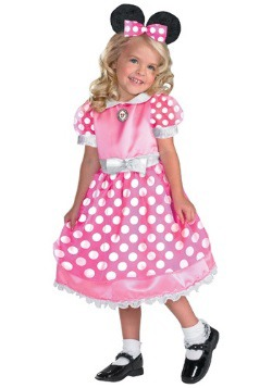 Pink Polka-Dot Minnie Mouse Costume