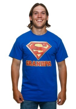 Superman Super Grandpa T-Shirt