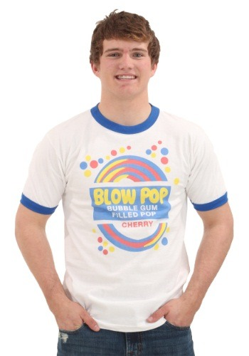 Blow Pop Label Ringer T-Shirt