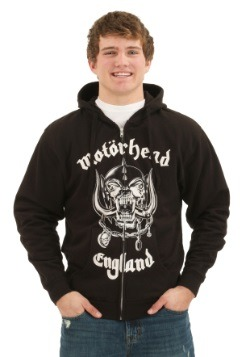 Motörhead England Zip Hoodie