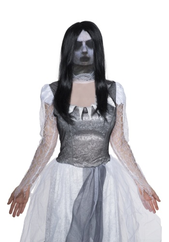 Fabric Adult Ghost Mask