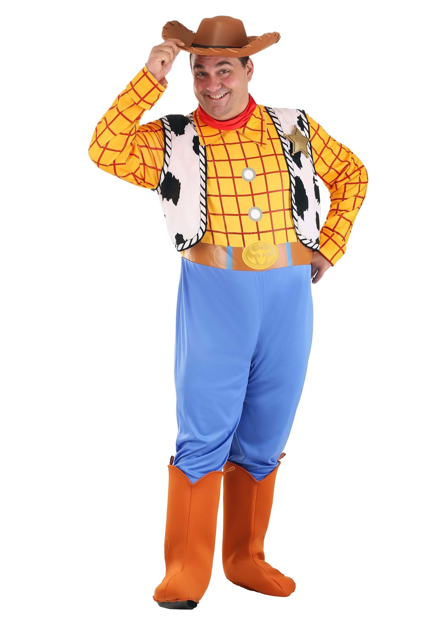 Adult Woody Costume Vest uOAtD0