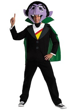 Sesame Street Count Costume