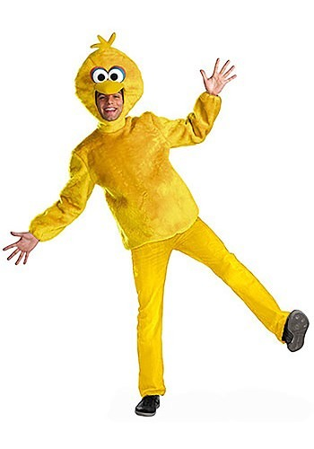 Yellow Big Bird Adult Costume