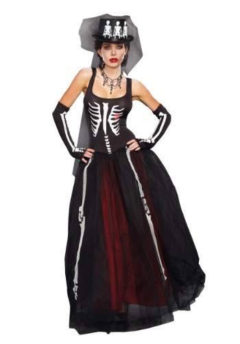 Ms. Bones Women's Costume