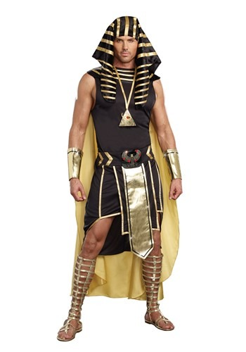 Plus Size King of Egypt Costume For Adults