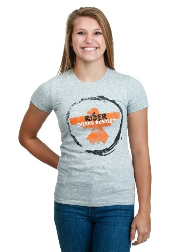 Dierks Bentley Riser Circle Juniors T-Shirt