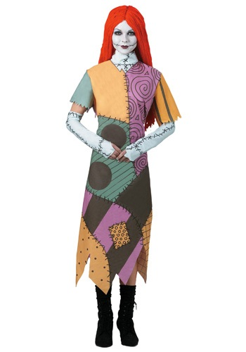 Nightmare Before Christmas Sally Womens Costume