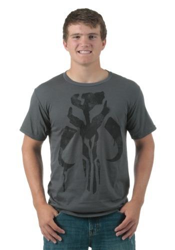 Men's Veste E Boba Fett Charcoal T-Shirt