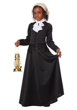 Girl's Harriet Tubman/Susan B. Anthony Costume