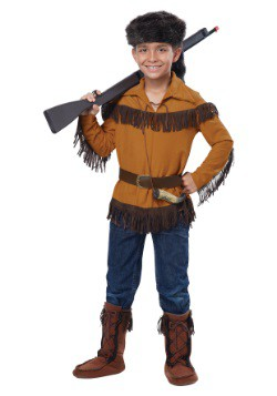Boy's Davy Crockett Costume