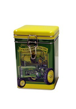 John Deere General Purpose Square Lock-Top Tin