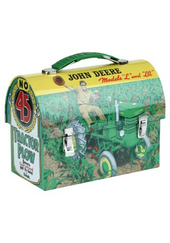 John Deere Models Lunch Box