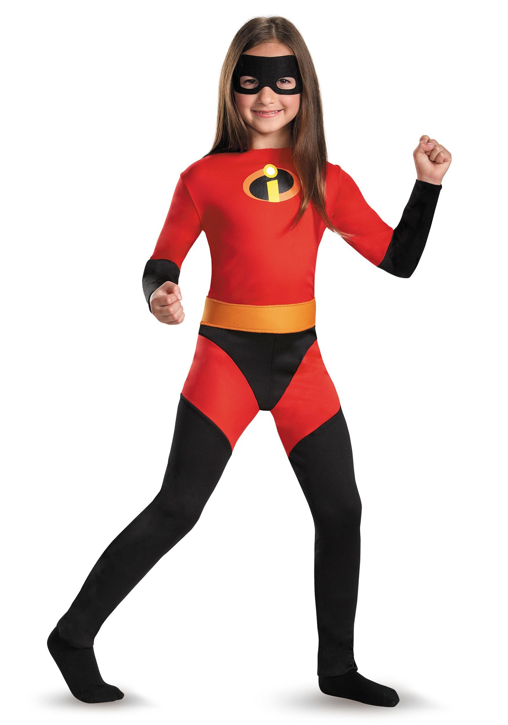 Kids Violet Incredible Costume