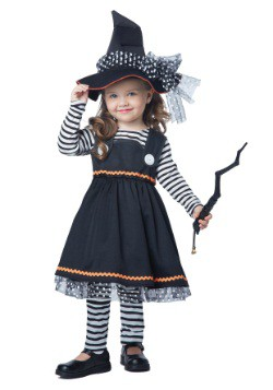 Crafty Little Witch Costume For Little Kids