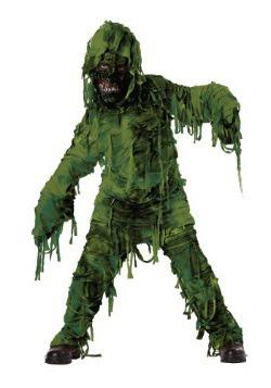 Boy's Swamp Monster Costume