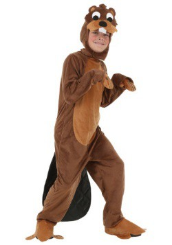 Kids Busy Beaver Costume