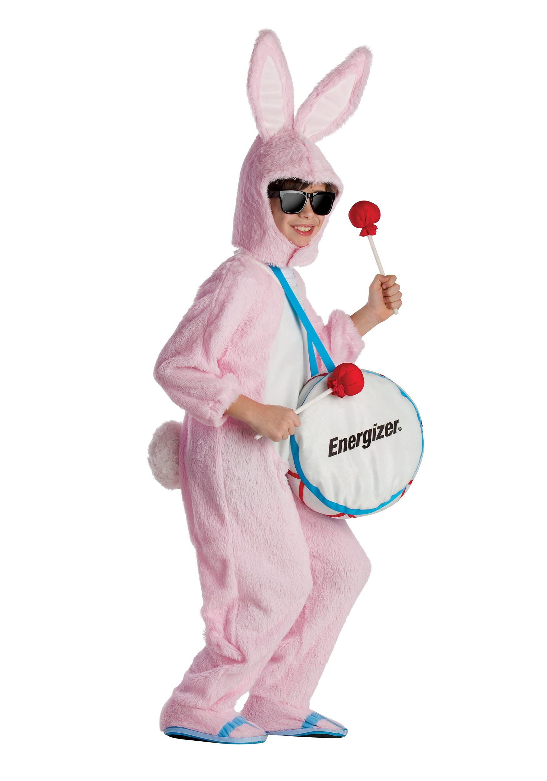Energizer Bunny Mascot Costume for Kids