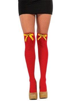 Wonder Woman Thigh High Stockings