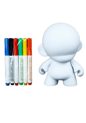 "7"" Munny w/ Reusable Markers"