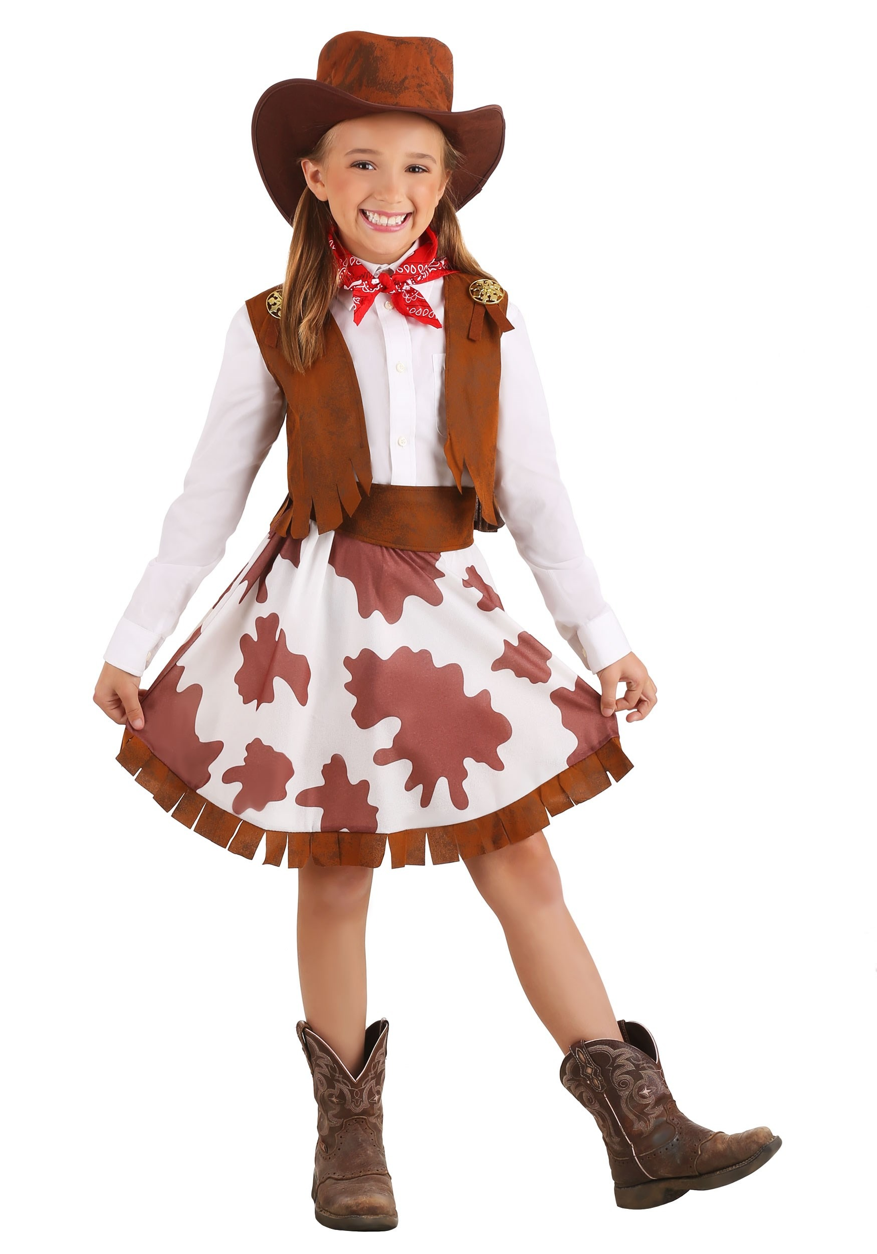Sweetheart Cowgirl Costume for Girls
