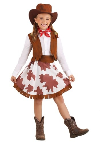 Sweetheart Cowgirl Girls Costume
