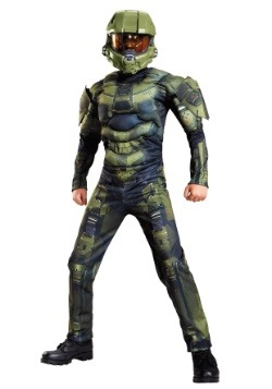 Master Chief Classic Muscle Boys Costume