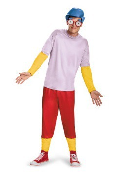 Simpsons Milhouse Deluxe Teen Costume