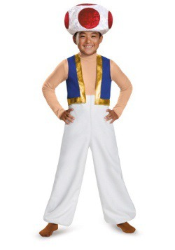 Toad Deluxe Boys Costume