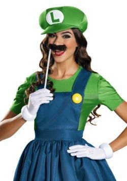 Women's Luigi Skirt Costume