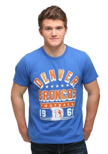 Mens Denver Broncos Kickoff Crew T-Shirt