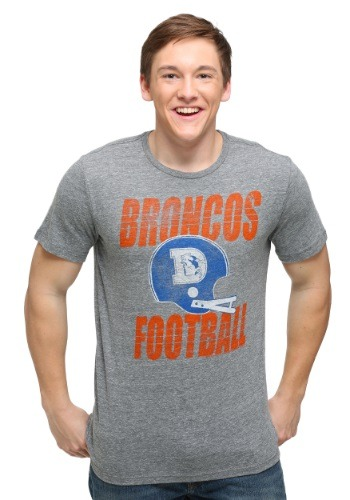 Denver Broncos Touchdown Tri-Blend Men's T-Shirt