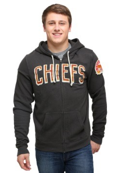 Kansas City Chiefs Sunday Mens Zip Up Hoodie