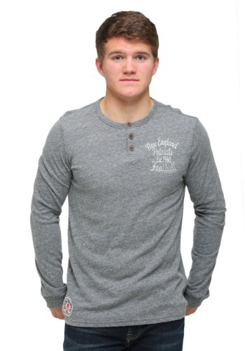 New England Patriots Huddle Henley Shirt