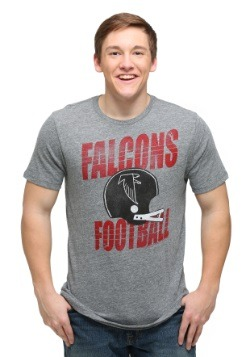 Atlanta Falcons Touchdown Tri-Blend Men's T-Shirt