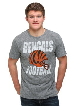 Cincinnati Bengals Touchdown Tri-Blend Men's T-Shirt