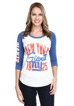 Women's New York Giants All American Raglan Shirt