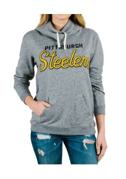 Pittsburgh Steelers Sunday Juniors Cowl Hooded Sweatshirt
