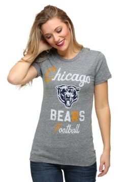 Chicago Bears Touchdown Tri-Blend Juniors T-Shirt