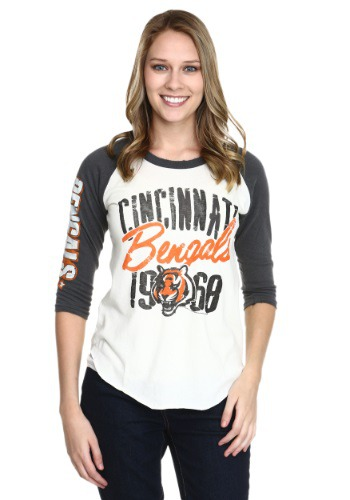 Cincinnati Bengals All American Juniors Raglan Shirt