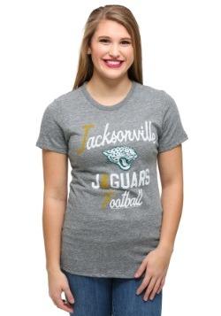 Jacksonville Jaguars Touchdown Tri-Blend Juniors T-Shirt
