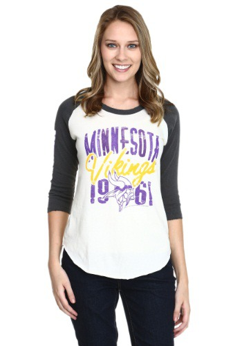 Minnesota Vikings All American Juniors Raglan Shirt